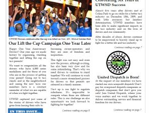 Newsletter Cover December 2015