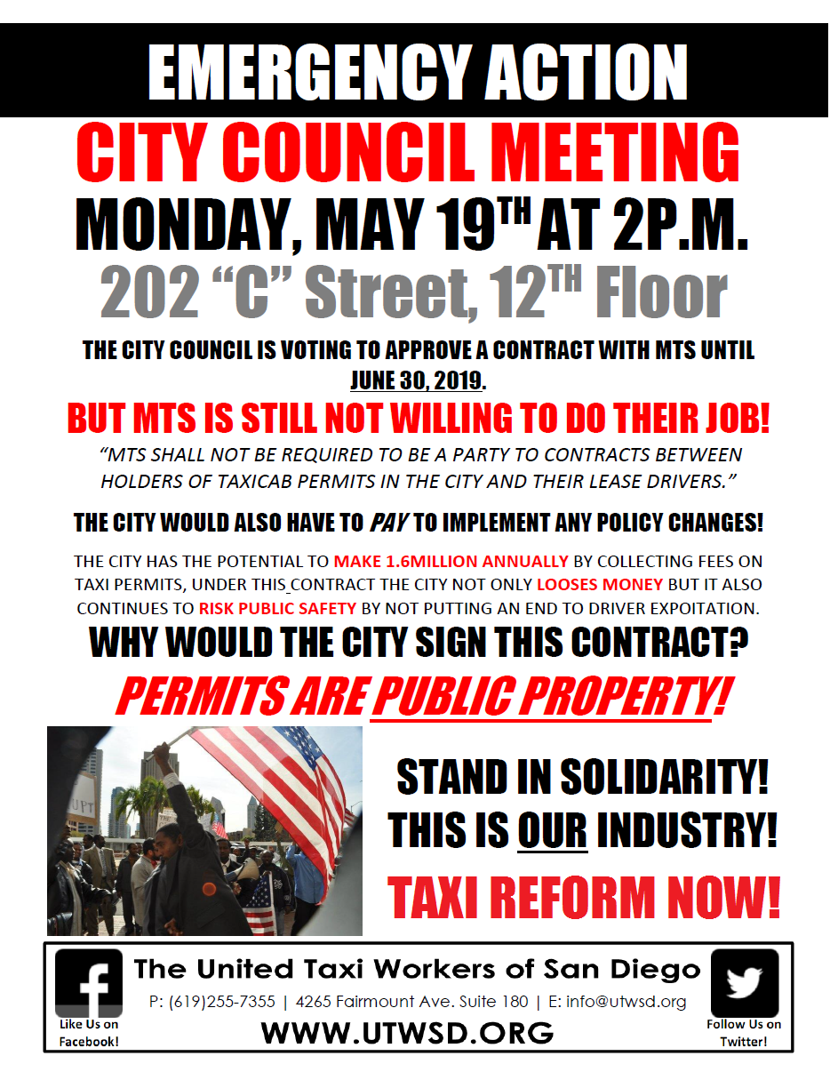 City Council Flyer 5.19.14
