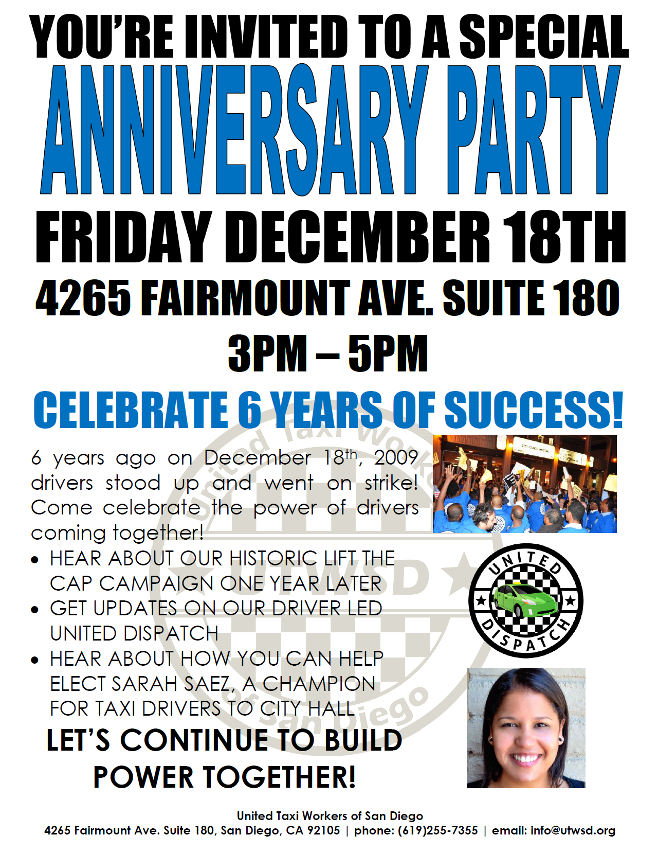 Anniversary Party 12.18.15